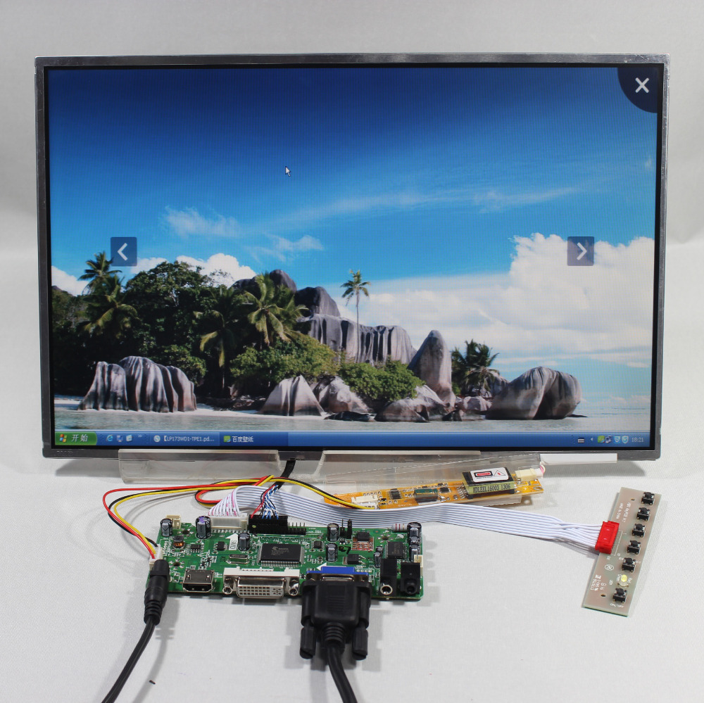 HDMI VGA DV Audio LCD Controller board M.NT6867615.4inch LP154WX3 LTN154W1 1280x800 lcd panel|lcd control panel|lcd panel tn|lcd advertising panel - title=