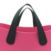 Voor uw Obag medeplichtige korte PU handvatten Klassieke tas Handvatten PU leer 47 cm 70 cm