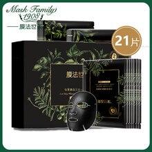 купить Mask Family 21Pcs Moisturizing Cleansing Shrink Pores Face Mask Whitening Remove Black 3 in 1 Seaweed Facial Mask Beauty Care по цене 1306.53 рублей