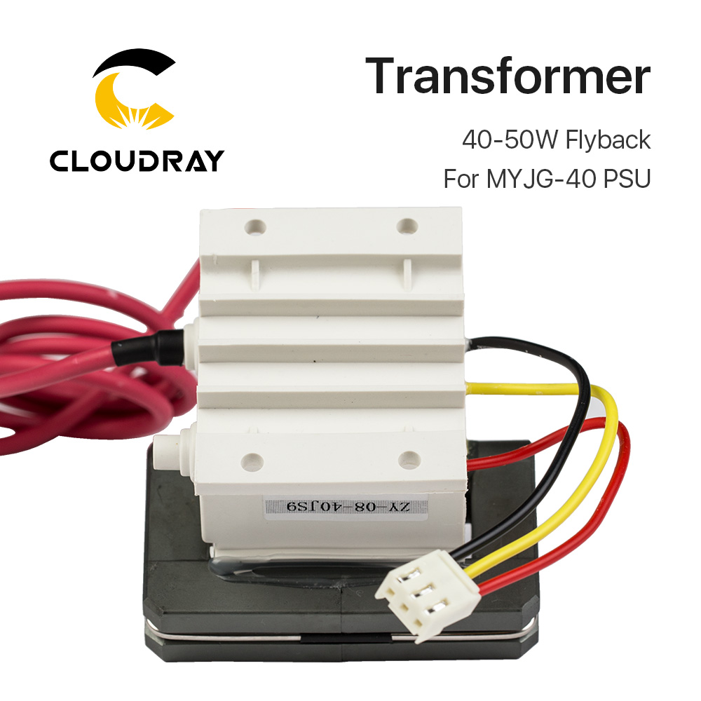 40 50w High Voltage Flyback Transformer For Co2 Laser Power Supply K40 Wiring Diagram Psu Myjg 50 In Woodworking Machinery Parts From Tools On Alibaba