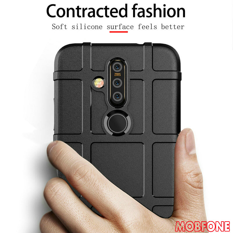 For <font><b>NOKIA</b></font> X71 9 PureView <font><b>Case</b></font> Soft <font><b>Silicone</b></font> Rugged Shell 3.1 7.1 <font><b>8.1</b></font> Plus Cover Heavy Duty Shockproof Armor 2.2 3.2 4.2 7.1 3.1 image