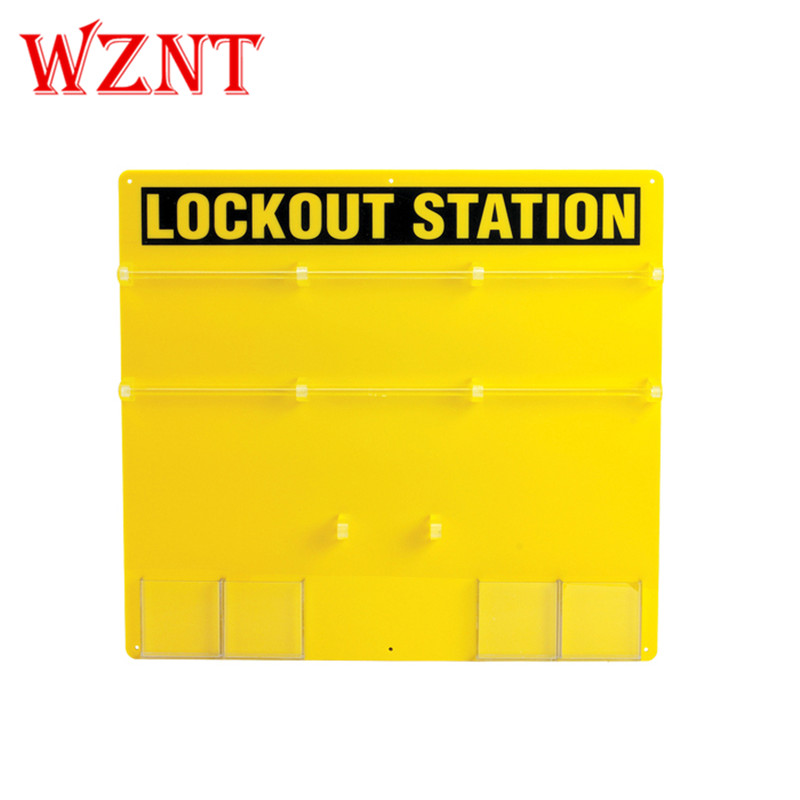 36-Lock Board Wall Mounted Lockout Tagout Stations36-Lock Board Wall Mounted Lockout Tagout Stations