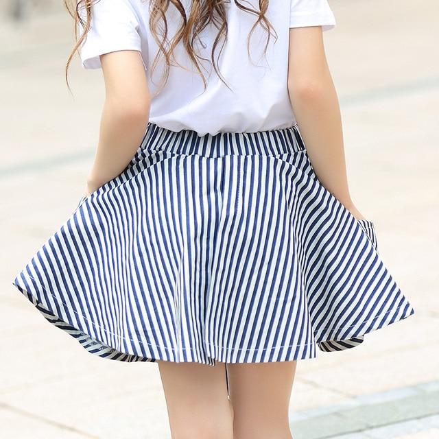 b69b90169115 Girls Skirts Cotton Summer Shorts Pants Skirts For Kids Girl Toddler Girl  Teenage Girl Summer Clothing Size 6 8 10 12 14
