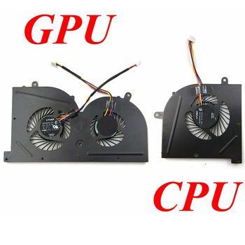 GZEELE neue Laptop cpu lüfter für MSI GS73 GS73VR MS-17B1 GS63VR GS63 Stealth Pro CPU BS5005HS-U2F1 GPU BS5005HS-U2L1 KÜHLER