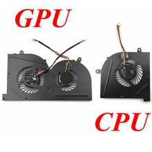 GZEELE new Laptop cpu cooling fan for MSI GS73 GS73VR MS-17B1 GS63VR G