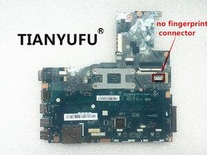 Image 3 - Placa base ZIWB0/B1/E0 LA B102P para ordenador portátil placa base para Lenovo B50 30 N2830 N2840 CPU (sin conector de huella dactilar) probada