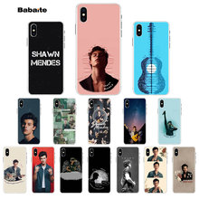 Babaite Hit pop singer Shawn Mendes Magcon Customer High Quality Phone Case for iPhone 5 5Sx 6 7 7plus 8 8Plus X XS MAX XR(China)