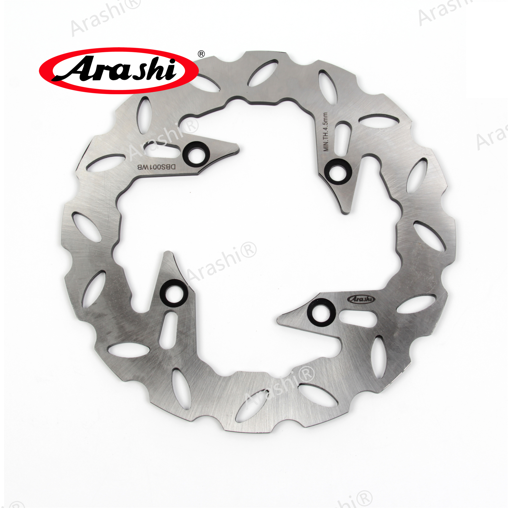 ARASHI For CAGIVA ELEFANT 750 1994-1995 Rear Brake Disc CNC Disks Rotors For <font><b>HONDA</b></font> <font><b>TRANSALP</b></font> <font><b>650</b></font> CB 250 400 500 <font><b>XL</b></font> V VTEC CB S image