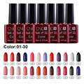 1pcs soak off Gel Polish CNDS Nail Gel Polish 132colors LED UV Gel Nail Polish Bluesky Effect 01-30