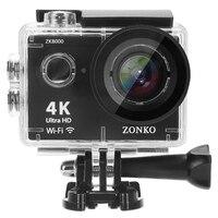 Bundle Action Camera 100% Ultra HD 4K 30M sport 2.0 inch Screen 1080p FHD go waterproof pro camera Action Camera Mini
