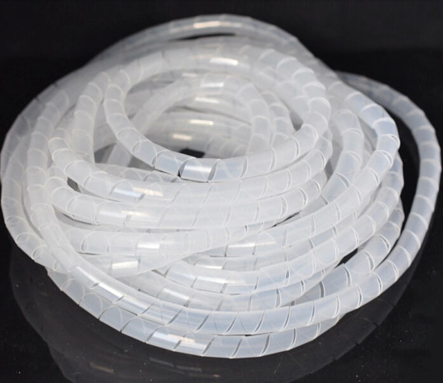 Spiral Cable Wrap/Tidy/Hide/Banding/Loom ~ PC,TV,Home Cinema,Wire ...