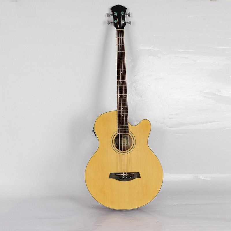 good quality 4 string electric acoustic bass guitar new arrival 6 string classic acoustic electric guitar top quality in orange 110508