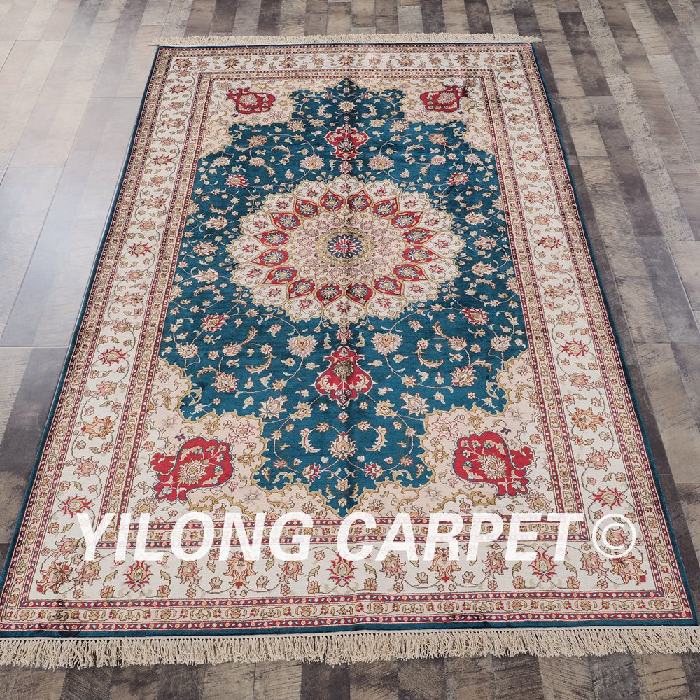 YILONG 5'x8' classic decorative turkish pattern original carpets handmade indian rugs (YHW313AB5x8)