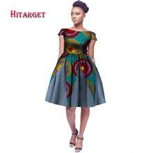 Новые африканские платья для женщин базин богатые 2019 Модные