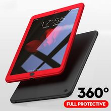 """360 полный защитный чехол для iPad mini 5 7,"""" Funda со стеклом ультра тонкий мягкий силиконовый чехол для iPad mini 1 2 3 4 Чехол"""