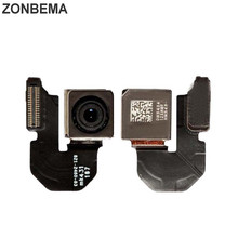 Zonbema オリジナルテストバックリアカメラとフラッシュモジュール iphone 5 用のセンサーフレックスケーブル × xr xs 5 5 s 5C se 6 6 s 7 8 プラス xs 最大