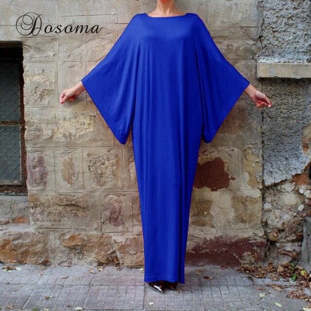 Casual Maxi Dress Shirt Long Robe Cotton Abaya Loose Style Pluse Size Muslim Summer Moroccan Burka Hijab Islamic Middle East