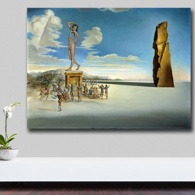 The God of the Bay of Roses by Salvador Dali Canvas Painting For Living Room Home Decor Oil Painting On Canvas Wall Art 1