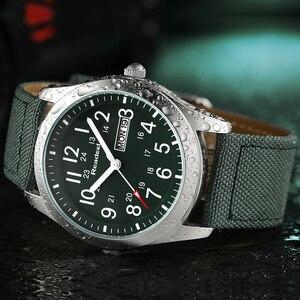 Image 5 - Readeel Relojes de pulsera de cuarzo para hombre, reloj informal militar deportivo con fecha y semana, de lona, gran oferta
