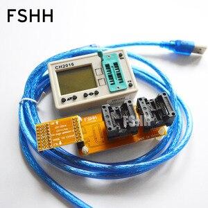 Image 1 - Série de données FALSH dédiée! programmeur CH2016 + adaptateur SOP8 208mil pour puce FLASH de données 45DB161 45DB041