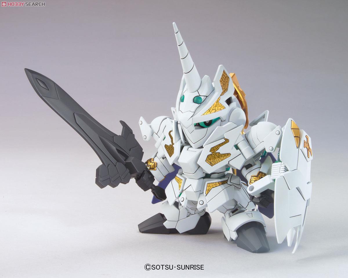 Image 3 - Bandai Gundam leyenda BB KNIGHT unicornio GUNDAM traje móvil ensamblar Kits de modelos figuras de acción juguetes para niñosFiguras de juguete y acción   -