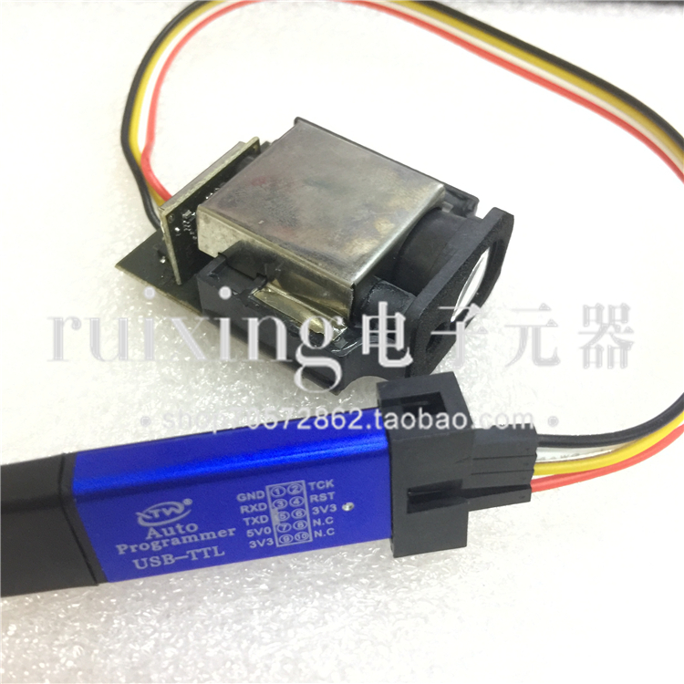 Laser Ranging Module Sensor Industrial Module High Precision TTL Serial Port STC MCU 10 M 20 M 30 M usb to ttl module stc scm download board