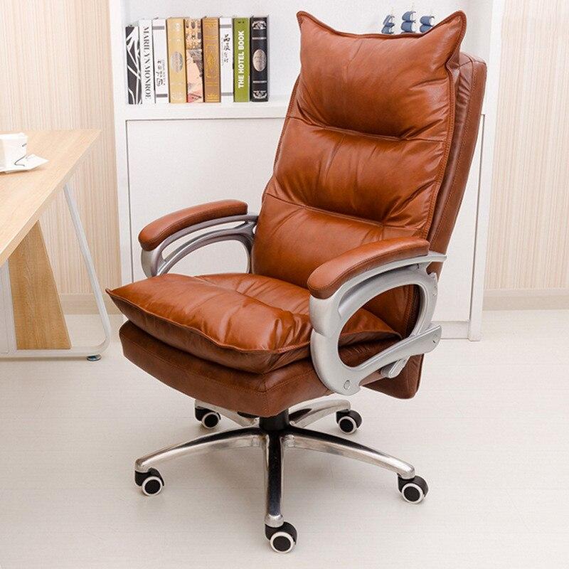 luxueux et confortable de massage chaise de bureau a domicile chaise reglable hauteur ergonomique siege patron meubles chaise pivotante dans chaises de