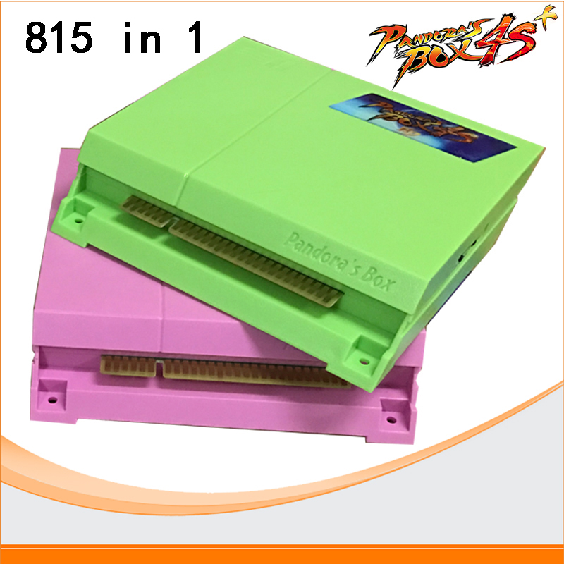 Pandora's Box 4S 815 in 1 Just another Pandora's box 4 jamma arcade multi Pandora games pcb multigame card VGA/CGA output free shipping pandora box 4s 815 in 1 jamma mutli game board arcade mutligame pcb vga hdmi signal output for arcade game cabinet