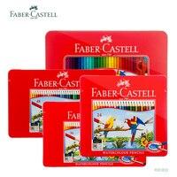 Faber Castell Aquarel Potloden Mooie Briefpapier Kunstenaar Professionele Schilderen Pen School-benodigdheden Set van Potloden 60 Gekleurde