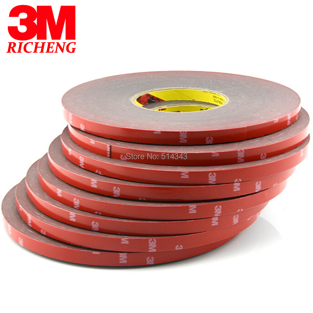 3M brand tape 4229 VHB double sided tape clear transparent acrylic VHB 0.8mm thickness 3M tape