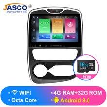 Android 9.0 Car DVD Player GPS Glonass Navigation multimedia for renault Clio 2012 -2015 Auto BT Radio Audio Video Stereo RAM 4G