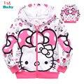 Retail,1pcs/1lot cartoon clothes,girls sweater sweater girls clothing hoodie free shipping