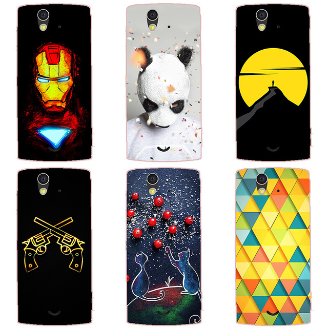 low priced b6f3f 79ef5 US $2.99 |For Sony Ericsson Xperia Ray ST18i Case Hard Plastic Back Cover  Cases Painting Abstract Hard Coque Cases Patterned Shell Skin-in Fitted ...