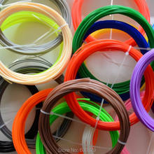 20 Colors 3D Filament ABS /PLA 1.75mm 3D Printer Filament Materials (10M/color ,total 200M) For 3D Printing Pen 3D Printer