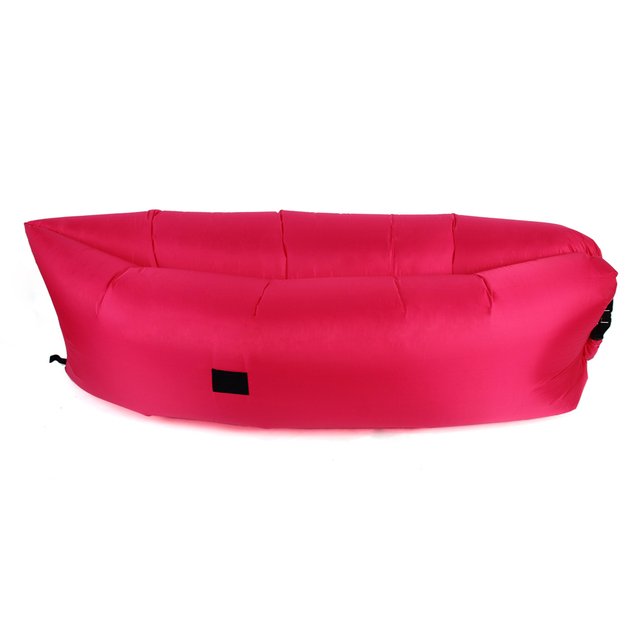 Low Price Clearance Outdoor Portable Inflatable Lounger Sofa Couch (Hotpink) Living Room Sofa Garden Settee Free Shipping  2