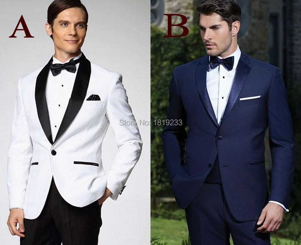 Custom Made New Arrival Groom Tuxedos 10 Styles Men's Suit Classic ...