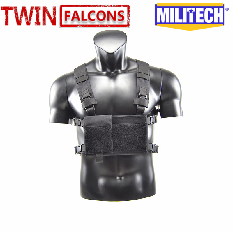 MILITECH Twinfalcons 500D Genuine Cordura Mil Spec Military MK3 Chest Rig Plate Carrier Combat Tactical Vest Army Spiritus Rig mil spec military lt6094k coyote brown cb plate carrier combat molle tactical vest army military combat vests