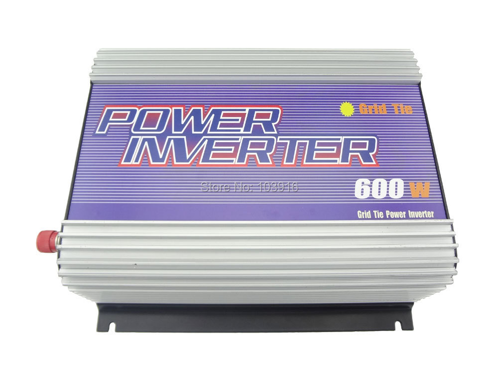 600W grid tied Inverter (DC22V-60V to 110VAC), for PHOTOVOLTAIC system, MS-SUN-600G-22A цены онлайн