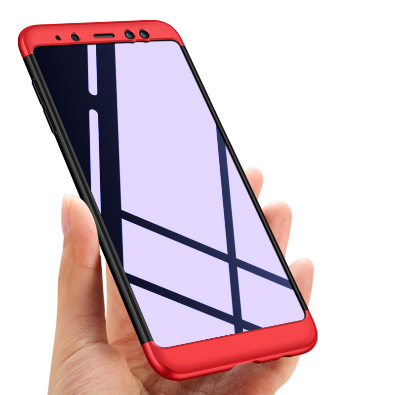 for samsung galaxy a8 2018 case 360 full protection hard pc back cover for samsung galaxy a8. Black Bedroom Furniture Sets. Home Design Ideas