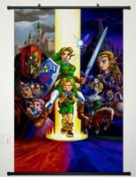 The Legend of Zelda Home Decor Anime Japanese Poster Wall Scroll New 024