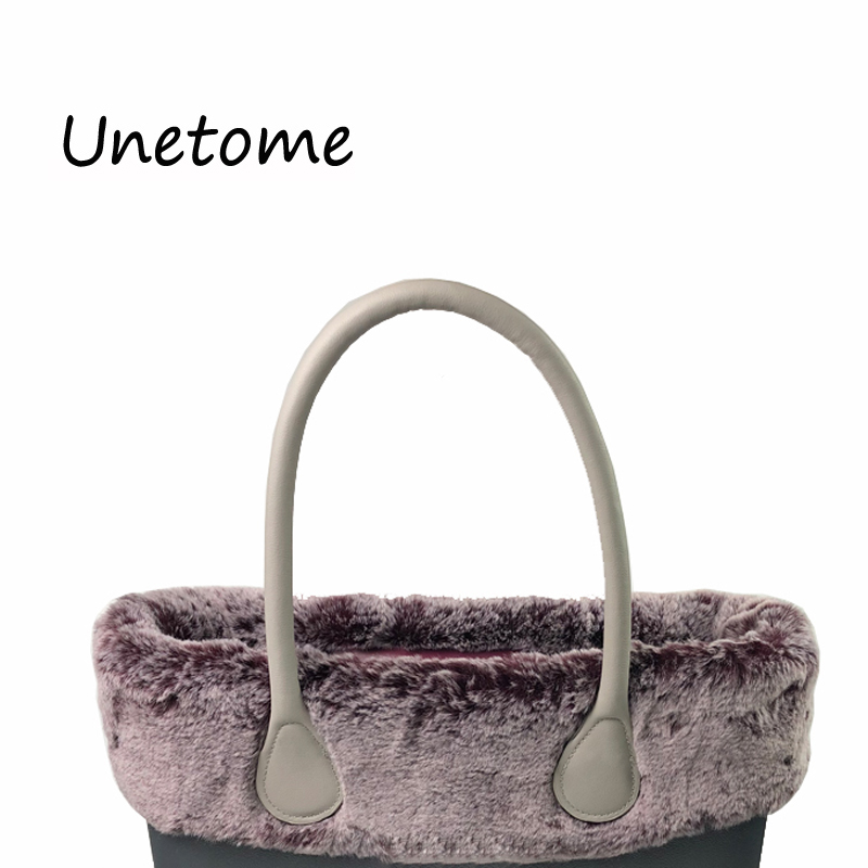 ed132dd2a7be Classic Mini Size Thermal Plush Decoration Fur Plush Trim for O BAG Fit for  Obag Women Bag Handbag-in Top-Handle Bags from Luggage   Bags on  Aliexpress.com ...