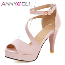 ANNYMOLI Summer Gladiator Sandals Shoes