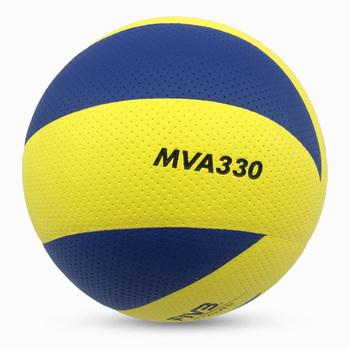 Nowy rozmiar marki 5 PU miękka w dotyku piłka do siatkówki oficjalny mecz MVA330 siatkówka wysokiej jakości piłka siatkowa do treningu piłki tanie i dobre opinie MINSA Kryty piłka treningowa MVA300 330 200