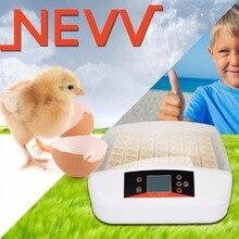 (UE wysyłka) 56 Jaj Nasiadka Cyfrowy Pełni Automatyczny Drób Kurczak Kaczka Jajko Inkubator z światła Regulator Temperatury i Wilgotności