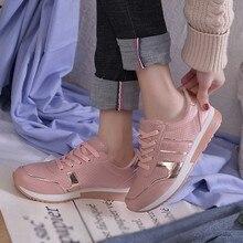 Обувь больших размеров; женские белые кроссовки; женская обувь на плоской подошве; коллекция года; летние женские кроссовки; zapatillas mujer chaussures femme;#89