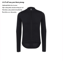 344b0ce31 SPEXCEL Cycling jersey 2018 all black Italy fabric long sleeve bicycle race  fit
