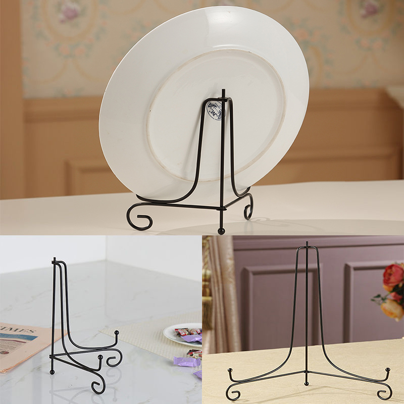 Classical photo display stand bowl plate picture frame for Un stand