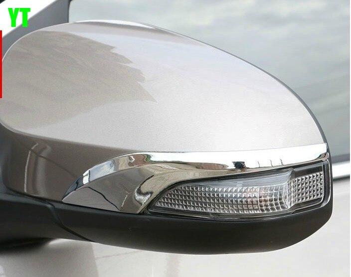 2pcs Lots Auto Rear View Mirror Trim Car Side Mirror Strip
