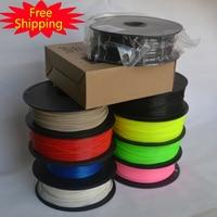 Goede kwaliteit 3d-printer filament PLA/ABS 1.75mm/3mm 1 KG groothandelsprijs