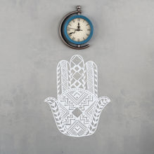 Hands Wall Decal Hamsa Amulets Vinyl Sticker New Design Pattern Home Decor Fatima Hand Art Mural Stickers AY1101